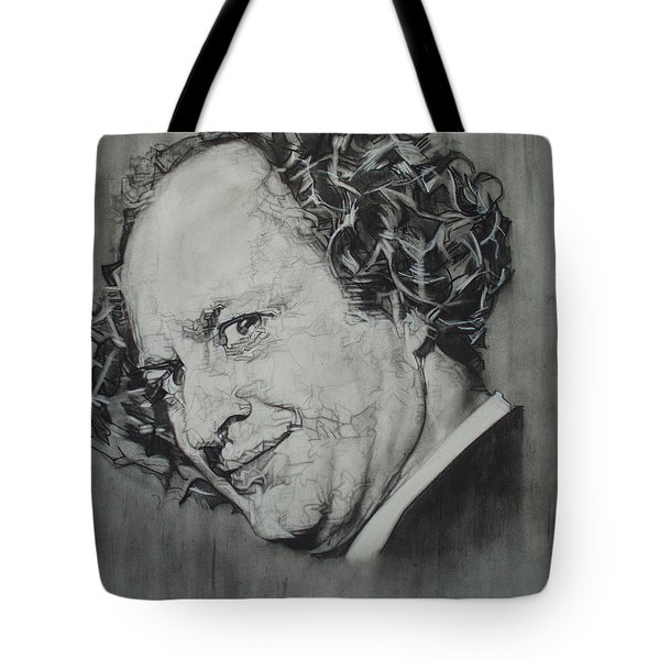 Larry Fine Of The Three Stooges - Where's Your Dignity? Tote Bag