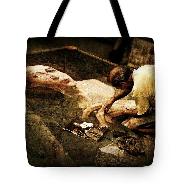 L'artista Di Strada Tote Bag
