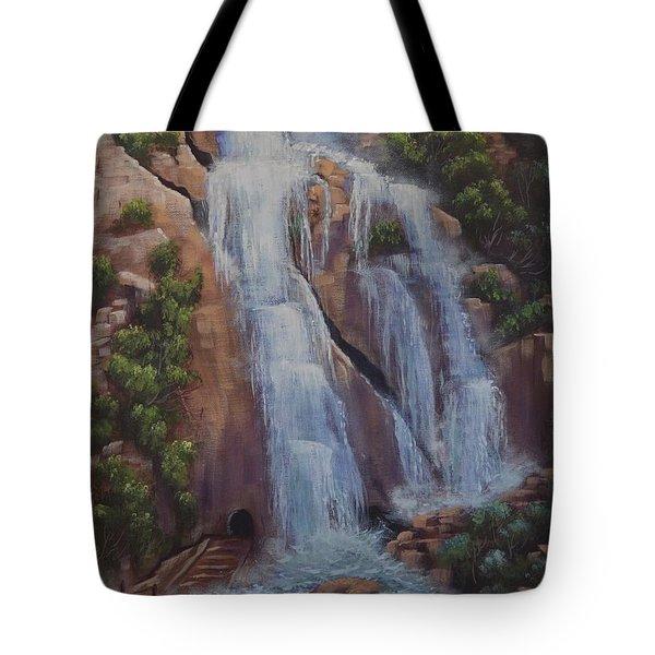 Las Brisas Falls Huatuco Mexico Tote Bag