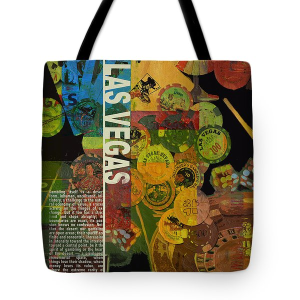 Las Vegas Compilation Tote Bag by Corporate Art Task Force