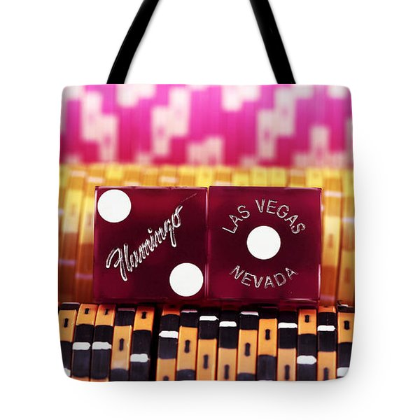 Las Vegas Flamingo Tote Bag