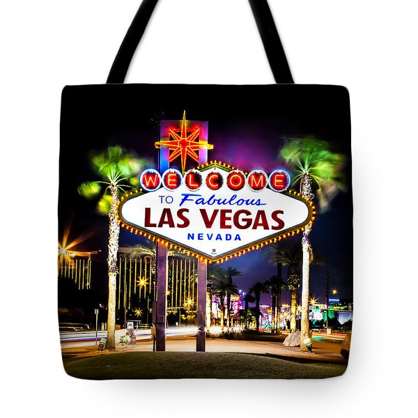 Las Vegas Sign Tote Bag