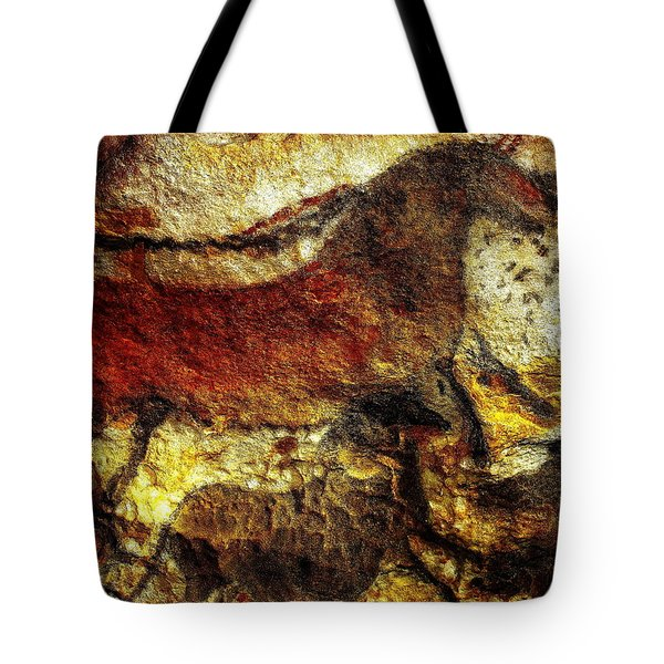 Tote Bag featuring the photograph Lascaux II No. 1 - Horizontal by Jacqueline M Lewis