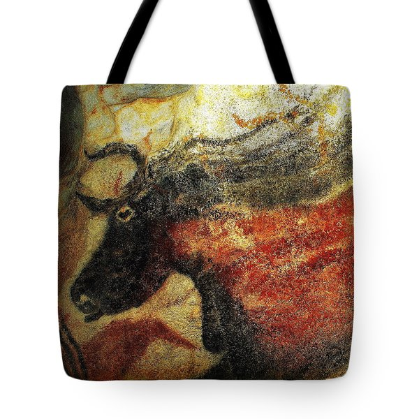 Tote Bag featuring the photograph Lascaux II Number 2 - Horizontal by Jacqueline M Lewis