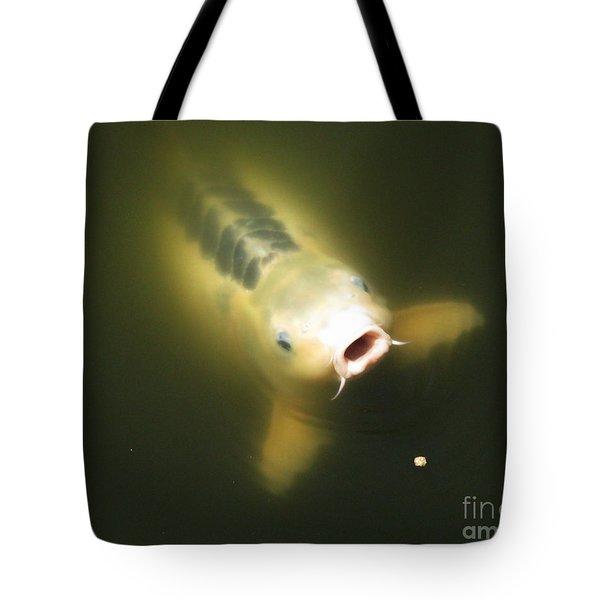Last Bite Tote Bag by Bedros Awak