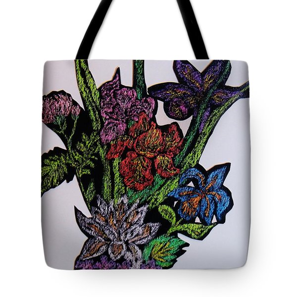 Last Bouquet Tote Bag