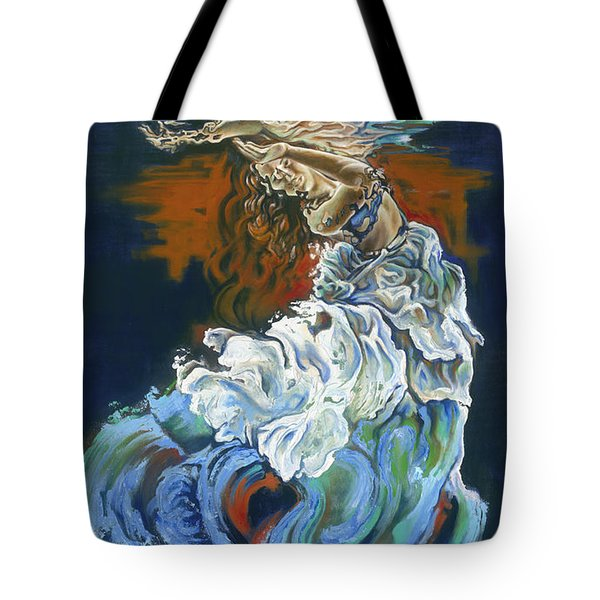 Dive Into Your Soul Tote Bag by Karina Llergo