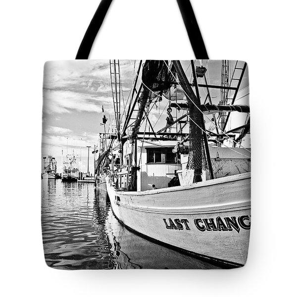 Last Chance Tote Bag by Scott Pellegrin