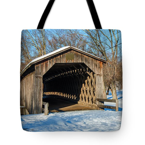 Last Covered Bridge Tote Bag