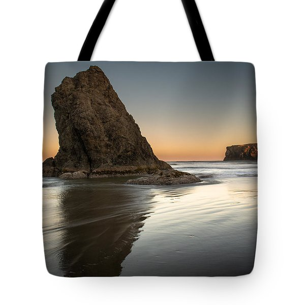 Last Day At Bandon Tote Bag