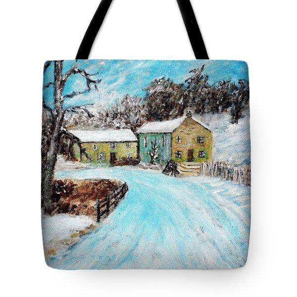 Last Days Of Winter Tote Bag by Mauro Beniamino Muggianu