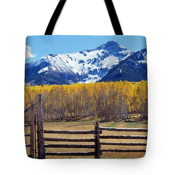 Last Dollar Ranch, Ridgeway, Colorado Tote Bag