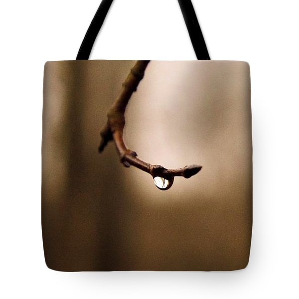 Last Drop Tote Bag by Photographic Arts And Design Studio