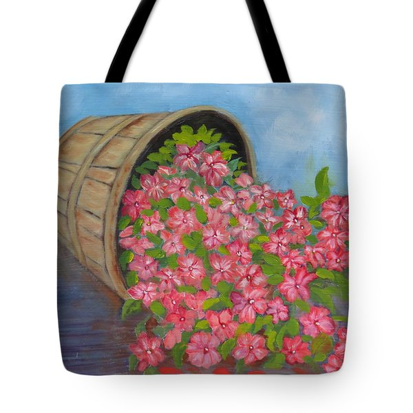Last Flowers Of Summer Tote Bag