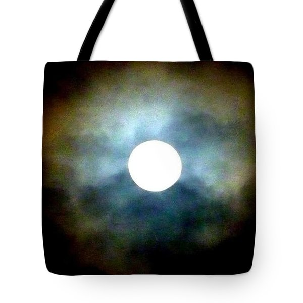 Last Full Cold Moon December 2012 Tote Bag by Susan Garren
