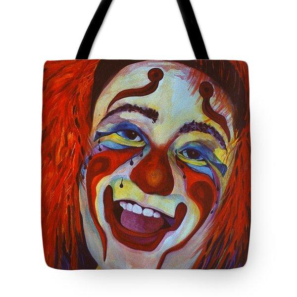 Last Laugh Tote Bag by Carolyn LeGrand