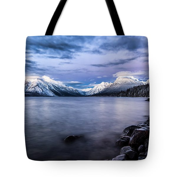 Tote Bag featuring the photograph Last Light by Aaron Aldrich