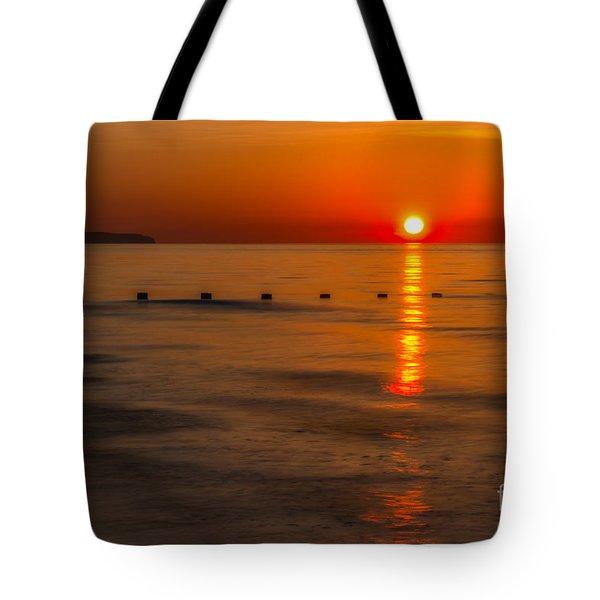 Last Light Tote Bag by Adrian Evans