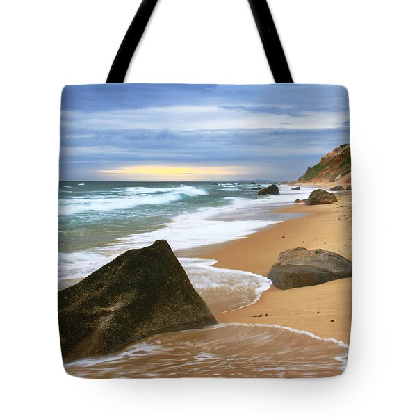 Last Light Before The Storm Tote Bag by Roupen  Baker