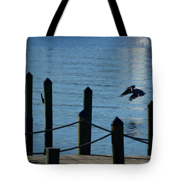 Last Light Flight Tote Bag by Susan Molnar