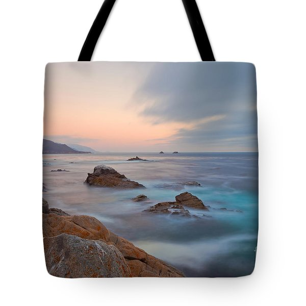 Tote Bag featuring the photograph Last Light by Jonathan Nguyen