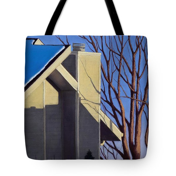 Last Light Last Snow Tote Bag by Xenia Sease