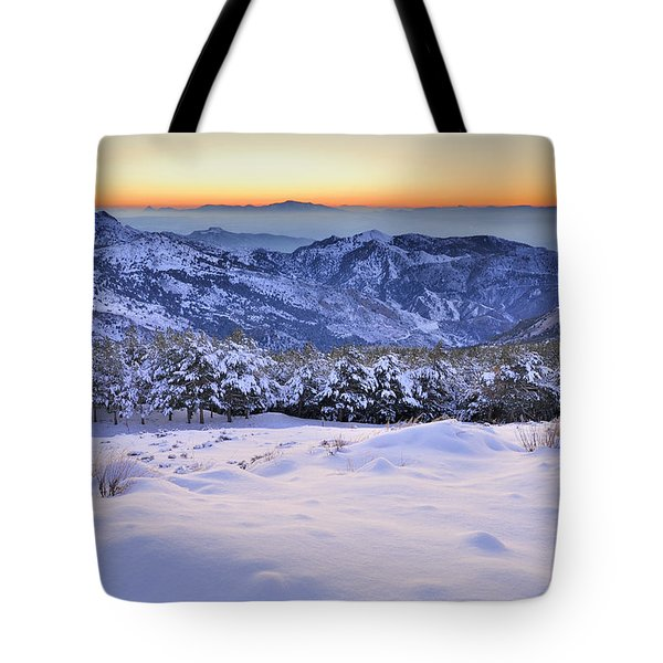 Last Light Of The Day Tote Bag by Guido Montanes Castillo