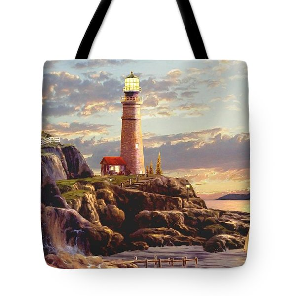 Last Light  Tote Bag by Ron Chambers