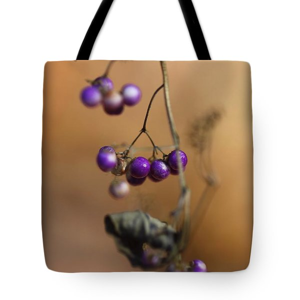 Last Of The Berries Tote Bag