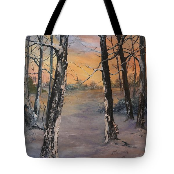 Last Of The Sun Tote Bag by Jean Walker