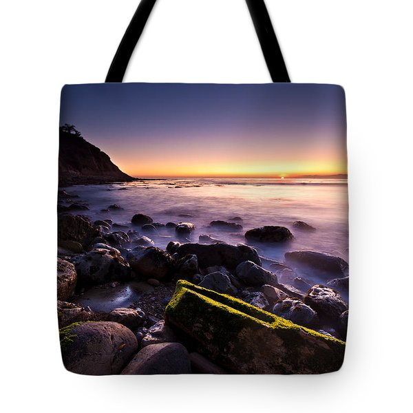 Tote Bag featuring the photograph Last Ray by Mihai Andritoiu