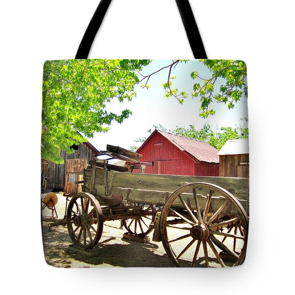 Tote Bag featuring the photograph Last Ride by Marilyn Diaz