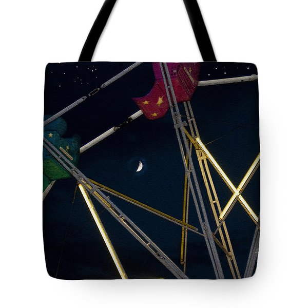 Last Ride Tote Bag by Sandi Mikuse