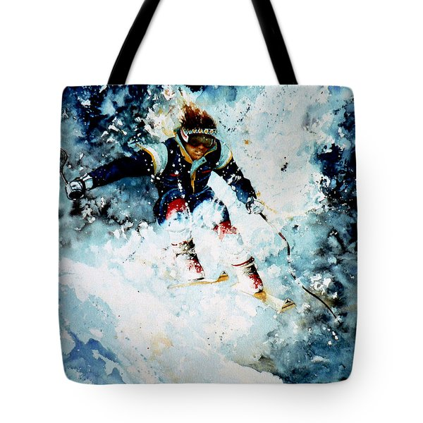 Last Run Tote Bag by Hanne Lore Koehler