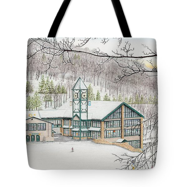 Last Run Of The Day Tote Bag