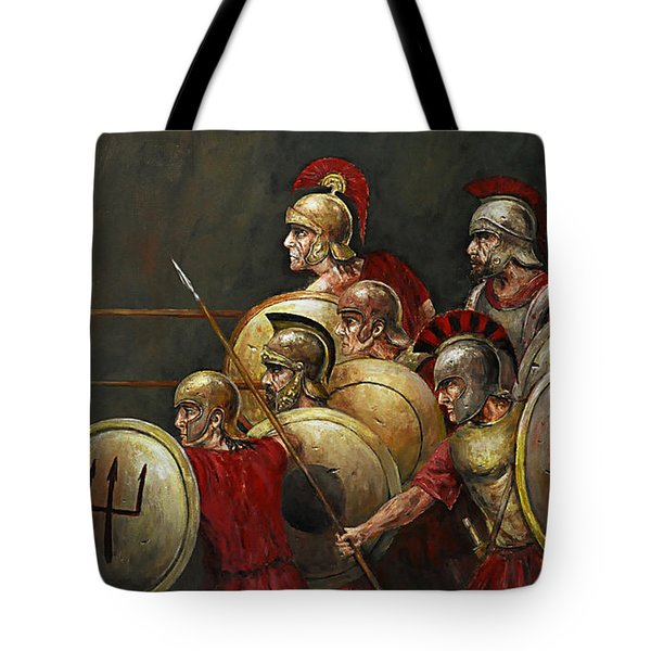 Last Stand Tote Bag by Arturas Slapsys