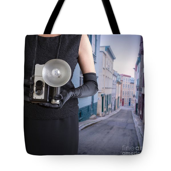 Last Thing I Remember Was A Blinding Light Tote Bag by Edward Fielding