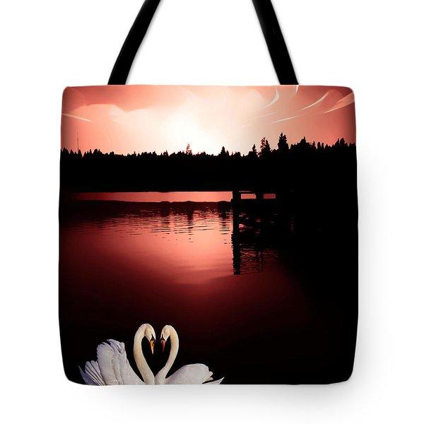 Lasting Love Tote Bag by Eddie Eastwood