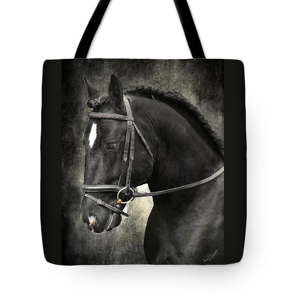 Latcho's Shadow  Tote Bag by Fran J Scott
