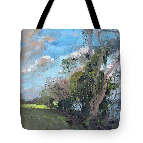 Late Afternoon By Niagara River Tote Bag by Ylli Haruni
