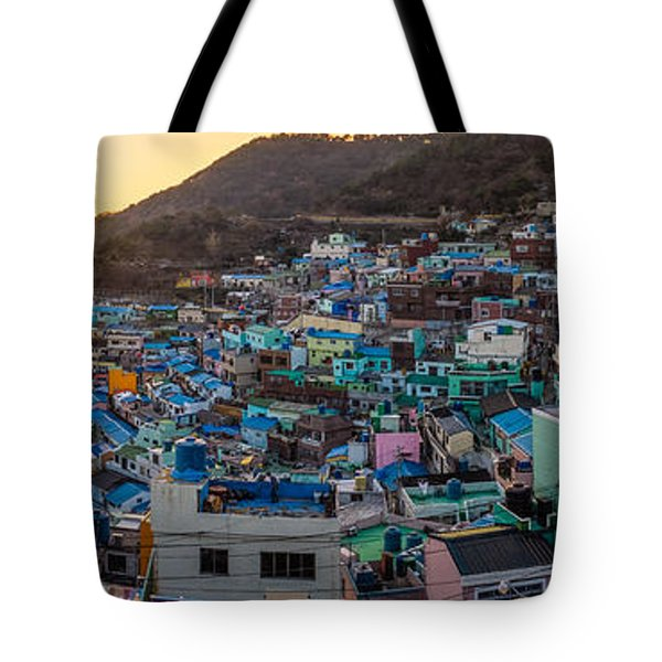 Late Afternoon In Gamcheon Tote Bag