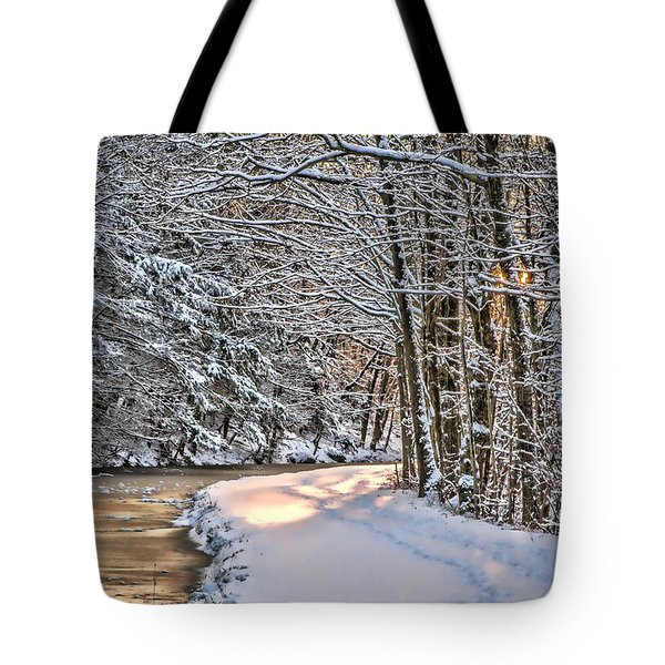 Late Afternoon In The Snow Tote Bag