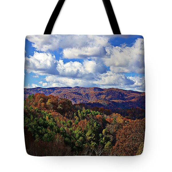 Late Autumn Beauty Tote Bag