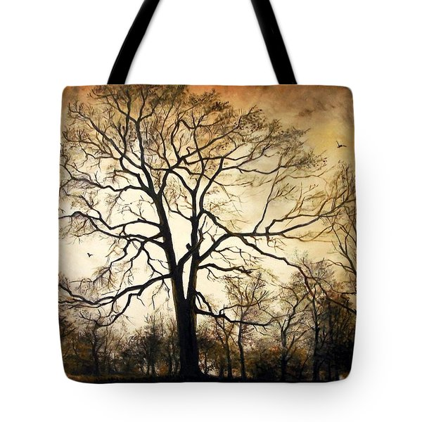 Late Autumn Tote Bag