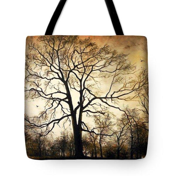 Late Autumn Tote Bag