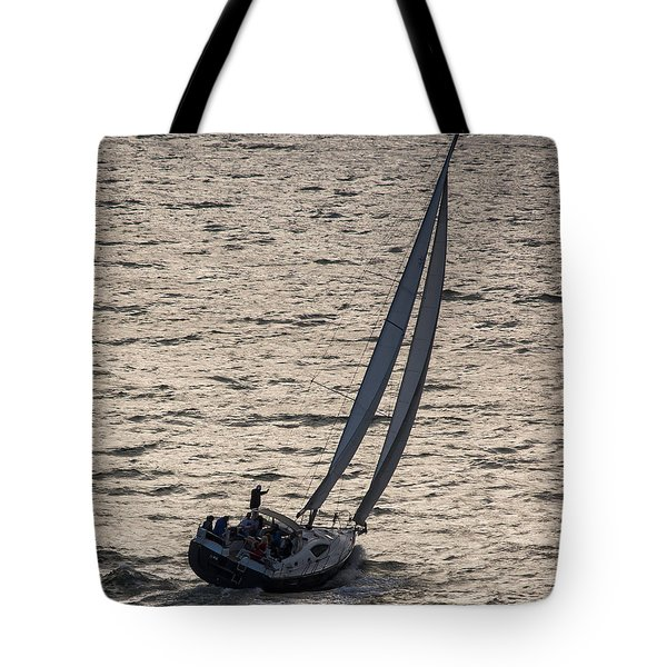 Late Day Easy Breeze Tote Bag
