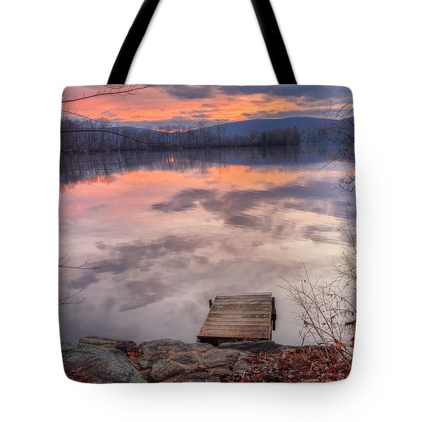 Late Fall Early Winter Tote Bag by Bill Wakeley