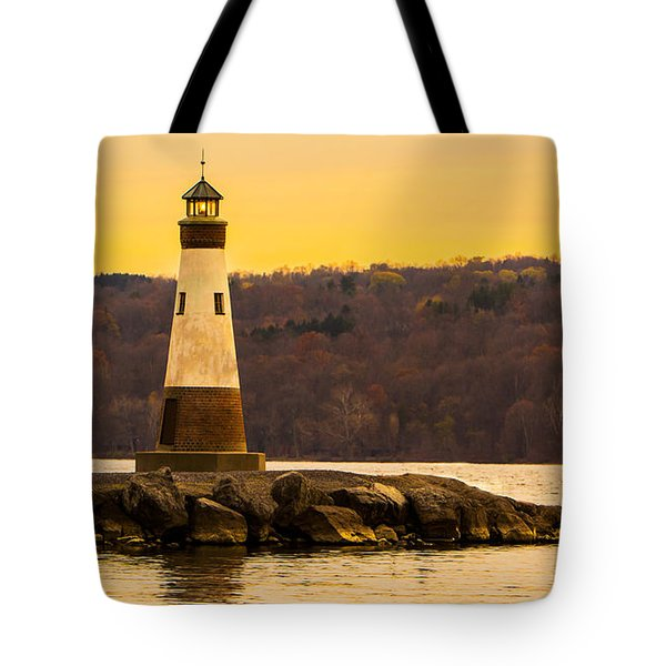 Late Fall Sunset At Myers Park Tote Bag