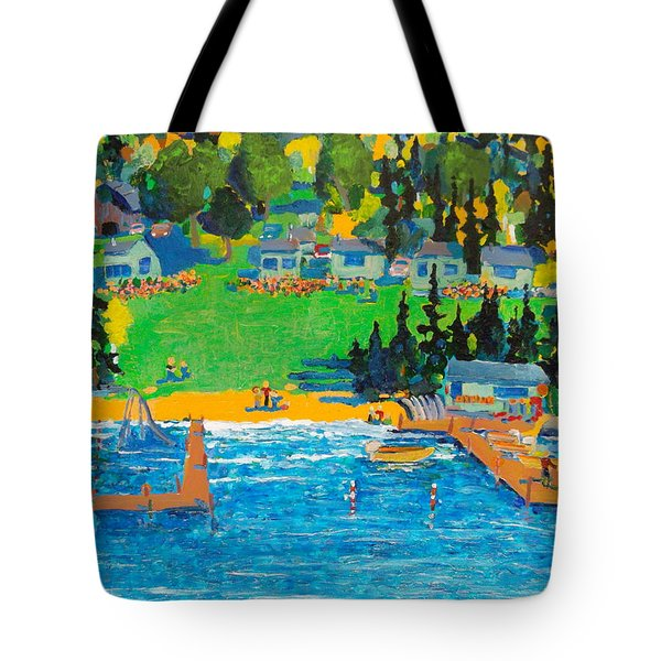 Late In The Season Tote Bag