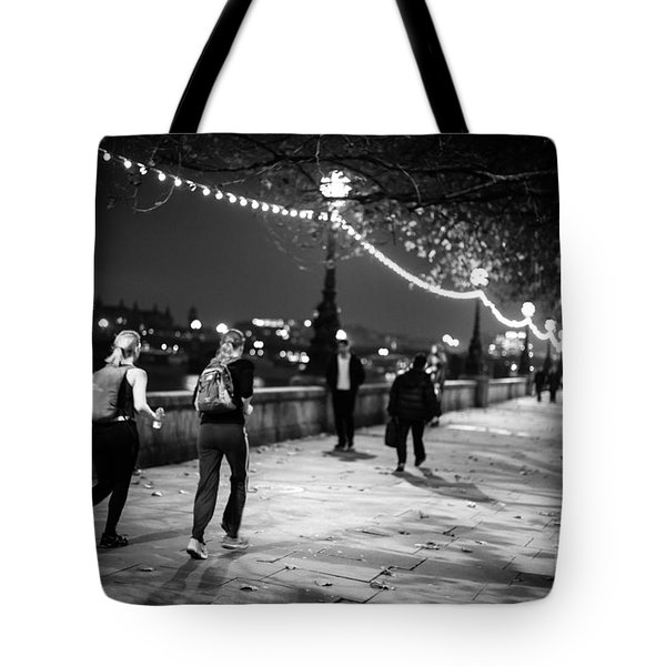 Late Night Run Tote Bag by Matt Malloy